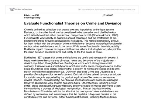 Sociological theories of crime essays png 755x523
