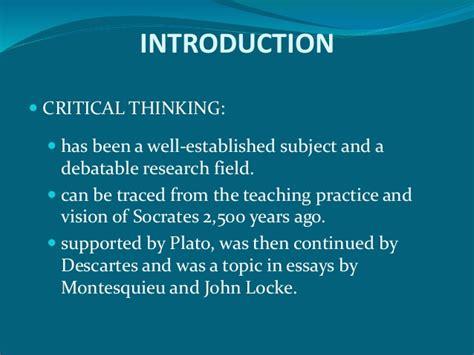 Critical thinking framework for any classroom isetl jpg 638x479